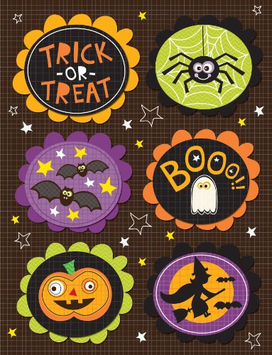 K&Company Halloween Spooktacular Words and Icons Grand Adhesion -
