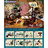 Re-Ment Miniature Witch House Furniture Full Set 8 Packs Rement