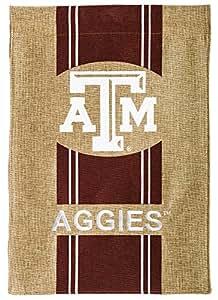 Texas AM Aggies Stripes Logo Garden Flag