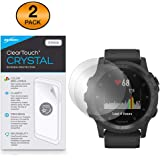Garmin Tactix Charlie Screen Protector, BoxWave [ClearTouch Crystal (2-Pack)] HD Film Skin - Shields from Scratches for…