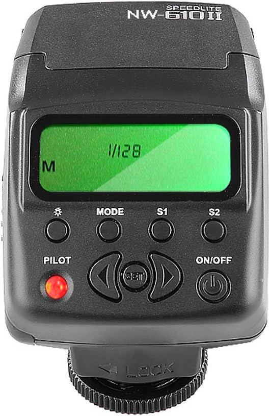 Neewer Nw 610ii Mini Lcd Display An Kamera Blitz Kamera