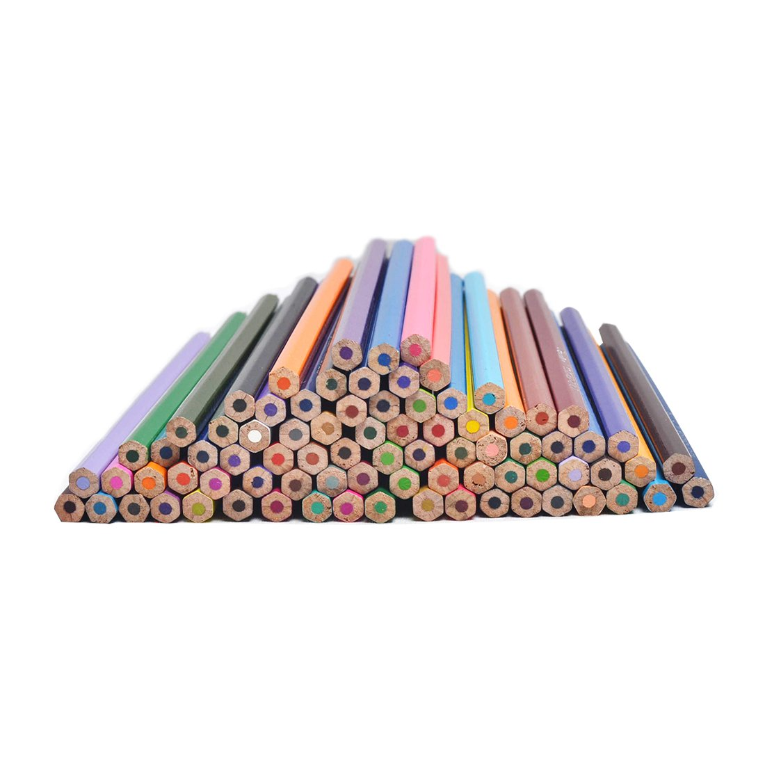 CYPER TOP 80-color Colored Pencils Set For Adults And Kids/Vibrant Colors,Drawing Pencils for Sketch, Arts, Coloring Books (Cylinder) by CYPER TOP (Image #4)