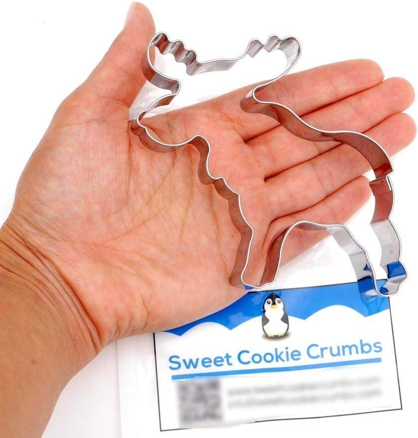Stainless Steel Sweet Cookie Crumbs C1102 Moose Cookie Cutter