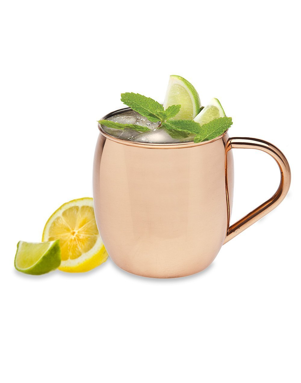 Godinger Moscow Mule All Copper 20 Oz, Set OF 12