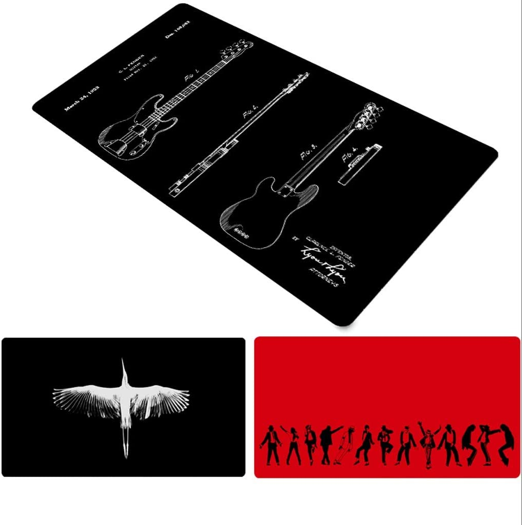 Industrial Wind Computer Mouse Pad Gaming Mouse Pad Gamer Mouse Mat Large Mause Pad for Computer Creative Mouse Mat Color : A, Size : 8040cm