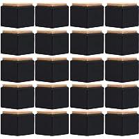 DOITOOL 20 piezas de silicona para patas de silla protectores de suelo para muebles de silicona transparente para…