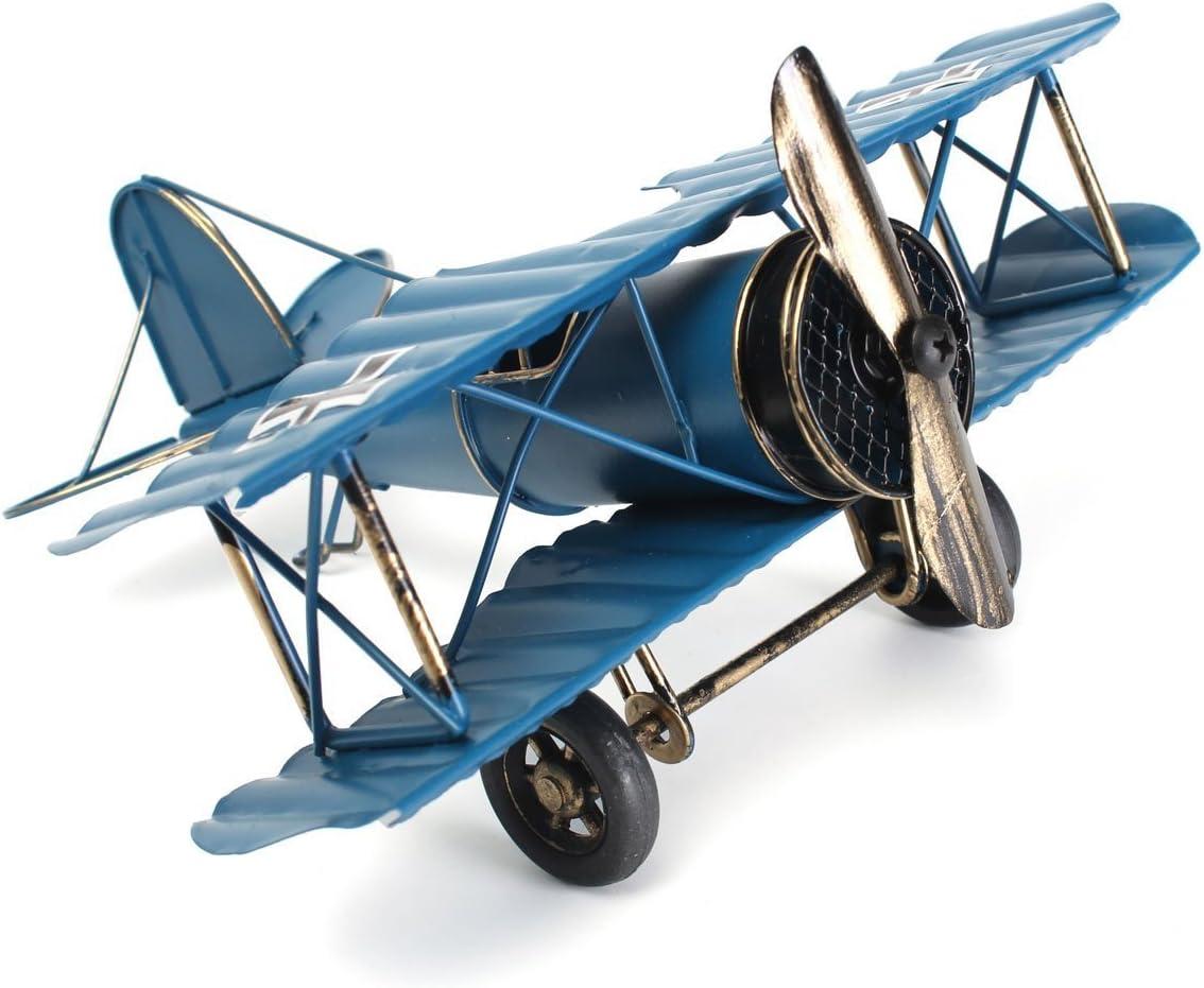 Large 8.5 Retro Airplane Modelo de avión, decoración del hogar ...