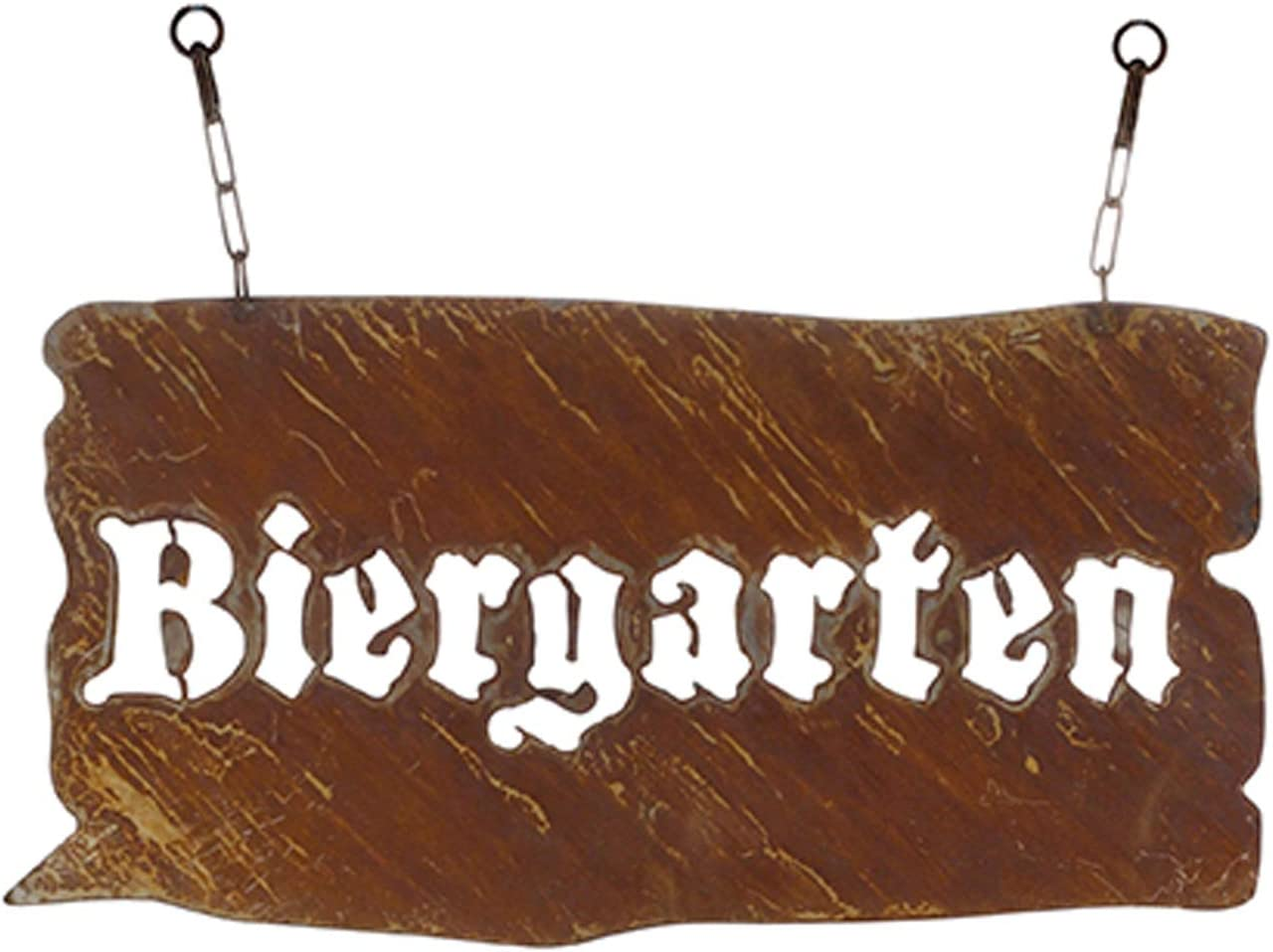 Easter Shell Collector S Shop Rusted Garden Metal Sign For Hanging Beer Garden Ulky And Original For Hanging On Chains The Sign For The Garden Garten