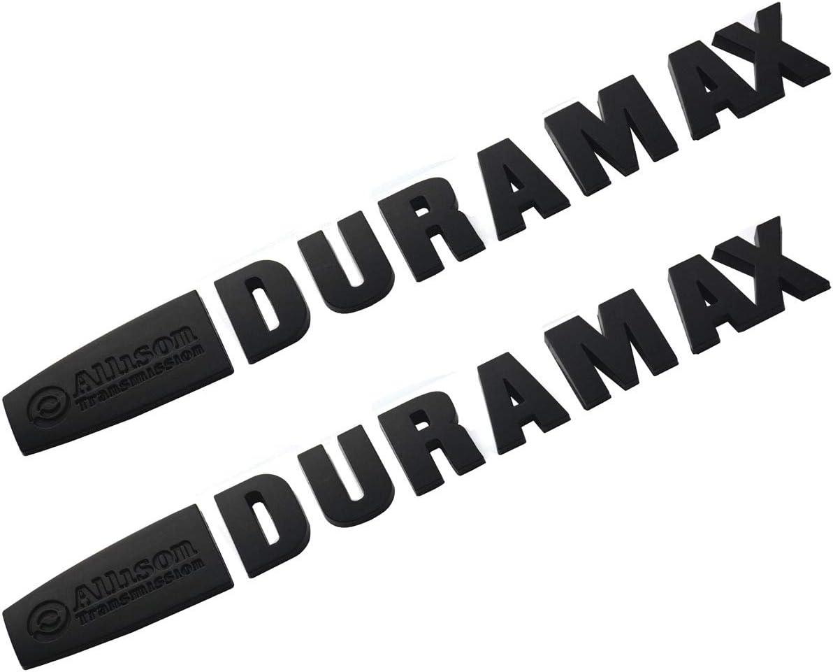 Blue-black 1x Allison Duramax Emblems Premium Car Rear Side Door Decal Fit for Silverado