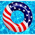 Playscene Giant American Flag Pool Float