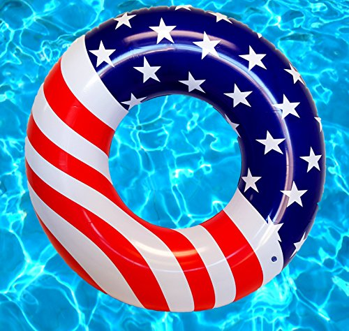 Playscene Giant American Flag Pool Float ()