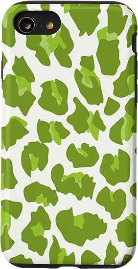 Is-7 2020 Christmas Camo Amazon.com: iPhone SE (2020) / 7 / 8 Green Leopard Cheetah Print