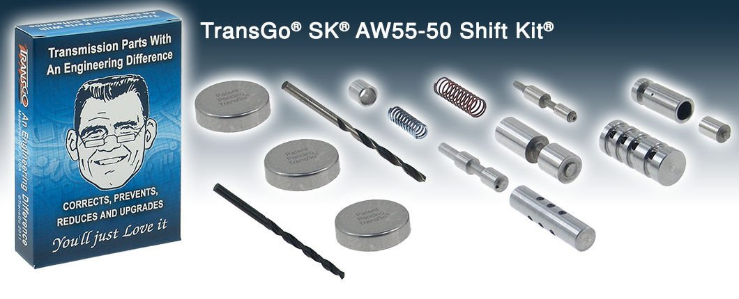 AW55-50SN Transgo Shift Kit Transmission Upgrade Fits 01-07 Models SK AW55-50