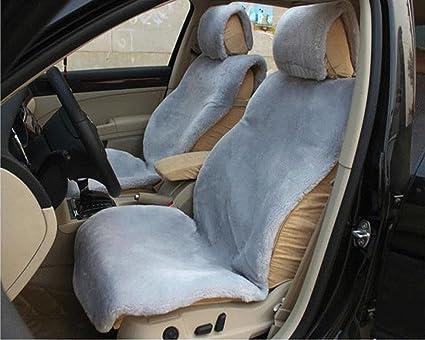 Strange Amazon Com Oflba Faux Sheepskin Car Seat Covers Front Inzonedesignstudio Interior Chair Design Inzonedesignstudiocom