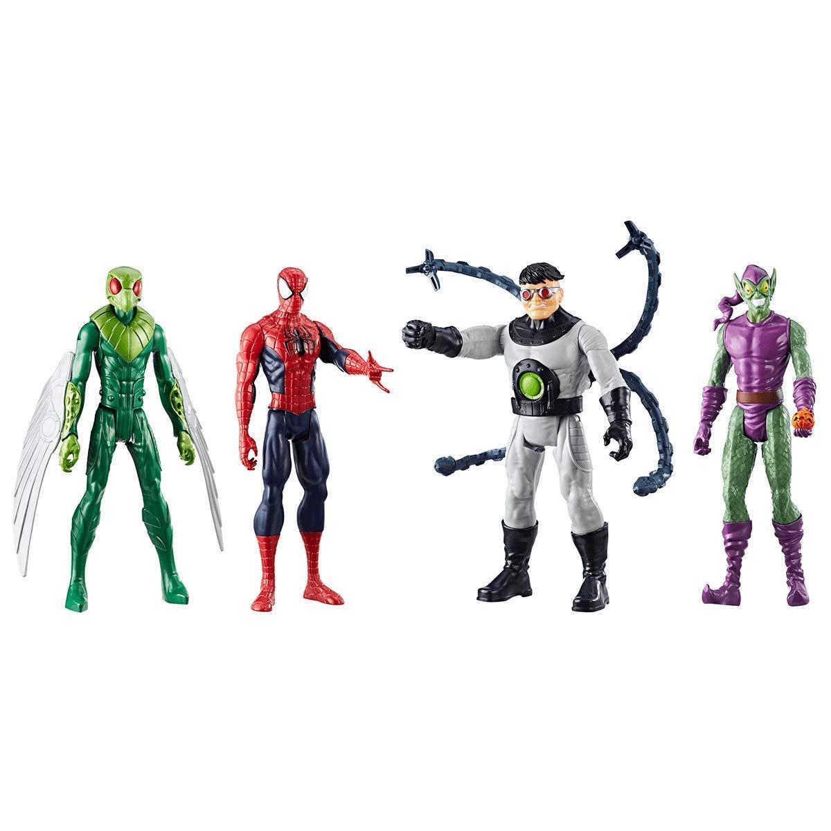 WHITELISTED Hasbro Set 4 Personaggi Titan Hero Series