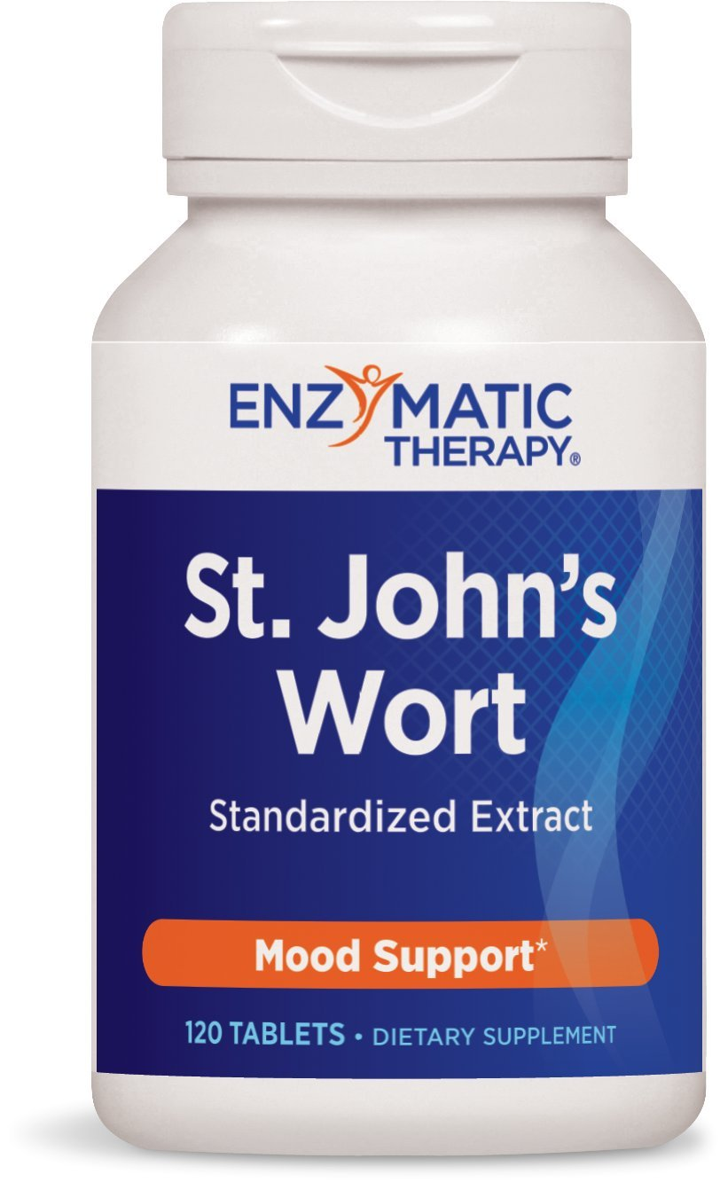 Enzymatic Therapy - St.John's Wort Extract, 450 mg, 120 tablets