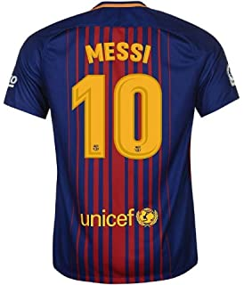 f2005a3a5 FC BARCELONA MESSI  10 FOOTBALL SOCCER KIDS YOUTH HOME JERSEY