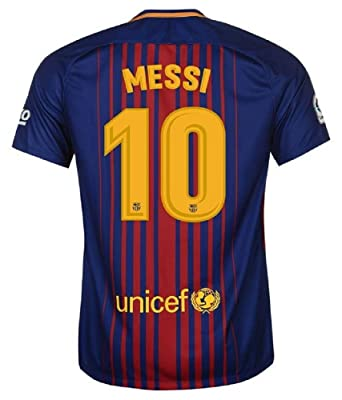 7e9569ab1 FC BARCELONA MESSI  10 FOOTBALL SOCCER KIDS YOUTH HOME JERSEY  Amazon.ca   Sports   Outdoors