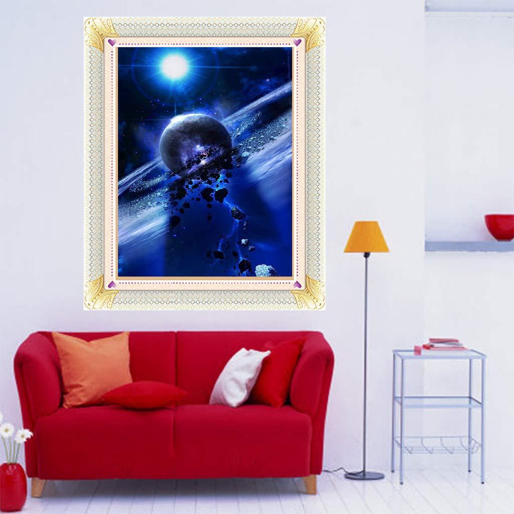 YWLINK DIY 5D Planeta Conjunto De Pintura De Diamante ...