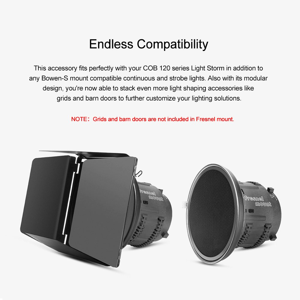 Amazon Aputure Fresnel Lens Mount For Aputure 120d Mark 2
