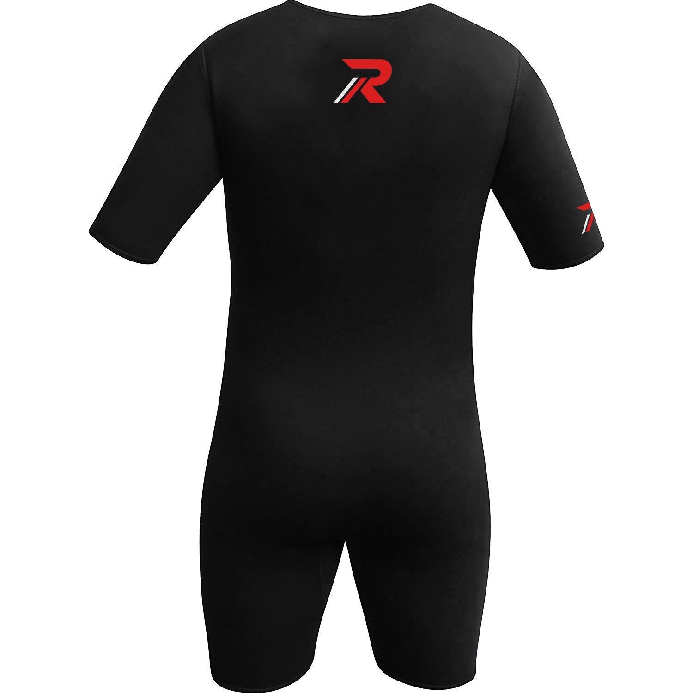 Roar Neoprene Suit Sweet Unisex (Black Red, X-Large) by Roar (Image #3)