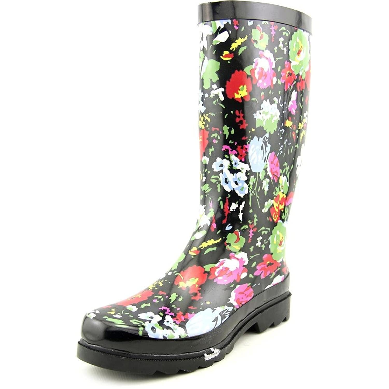 143 Girl Talory Women US 8 Black Rain Boot