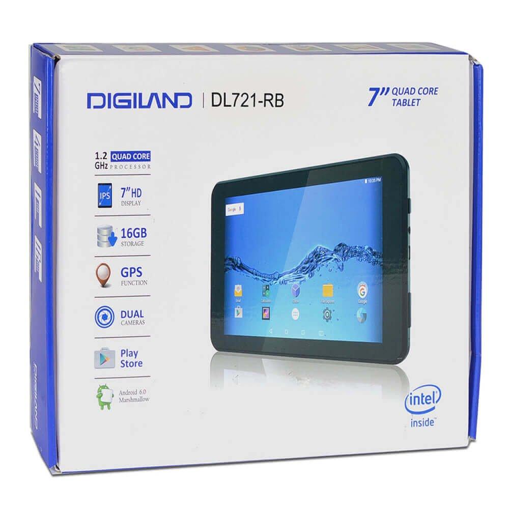 "Amazon.com : DigiLand Android Tablet Black - 16GB, 7"" - Refurbished :  Computers & Accessories"