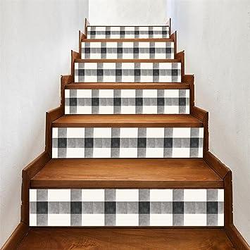 TAOtTAO - Adhesivo Decorativo para escaleras (6 Unidades), diseño de Escalera, 0.69, Color C: Amazon.es: Deportes y aire libre