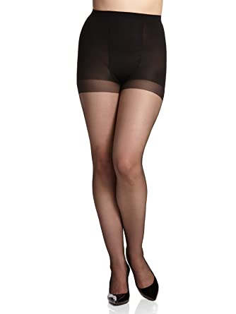 0ed3f6214 Berkshire Women s Reversible Ultra Sheer Control Top Pantyhose at Amazon  Women s Clothing store