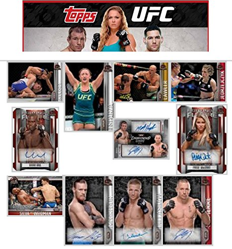2015 Topps UFC Champions Cards Hobby Box - 20 packs / 10 cards (Topps Autograph Auto)