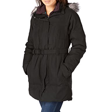 ff7a0d740 The North Face Womens Brooklyn Jacket - Black Medium: Amazon.co.uk ...