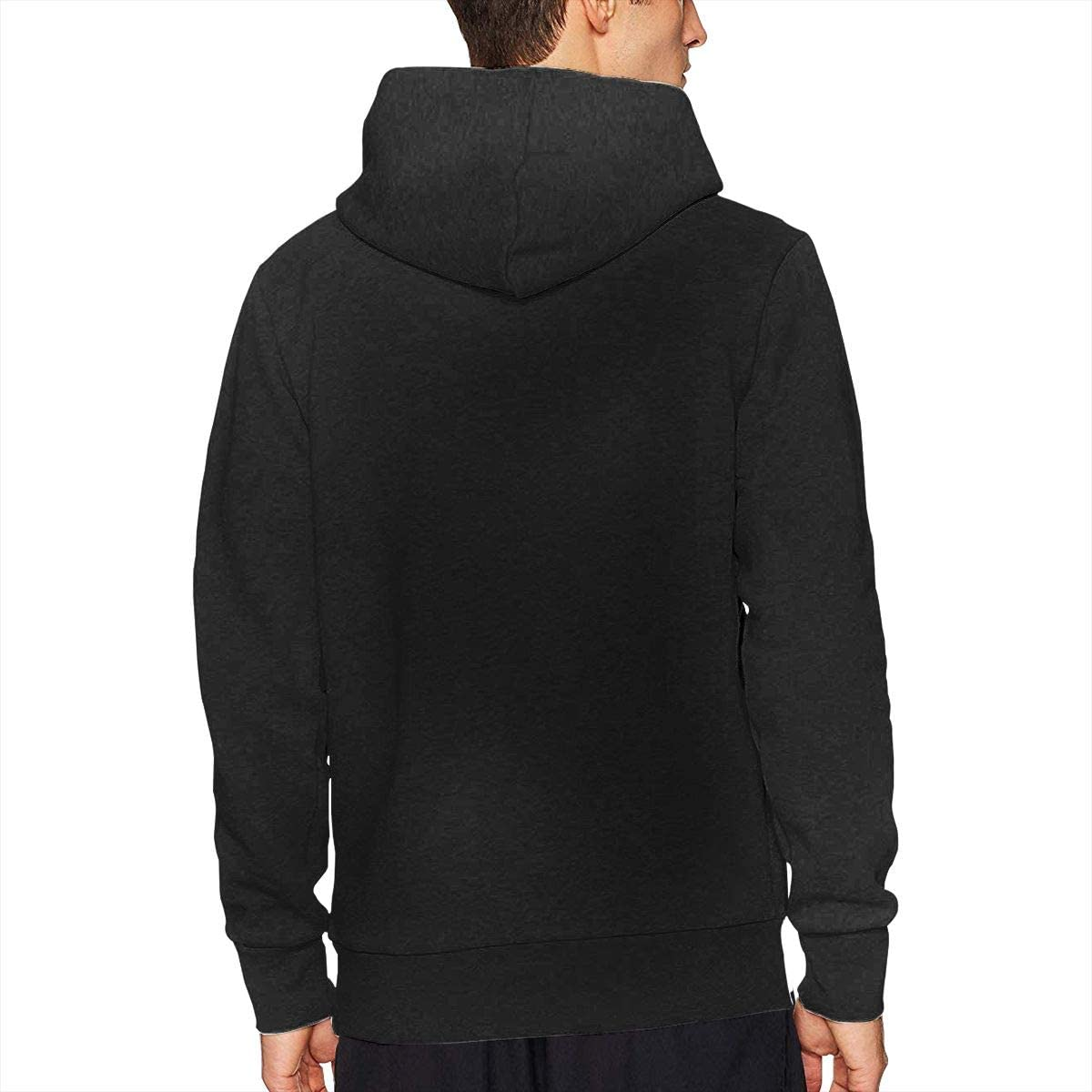 CHARLESNORTON Borderlands 2 Mans Cotton Casual Cute Hooded Sweatshirts Black
