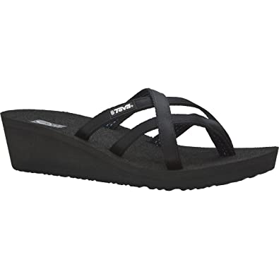 2a07aba14cd0b4 Image Unavailable. Image not available for. Color  Teva Women s Mush  Mandalyn Wedge Ola 2 Sandal ...