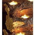 Wildon Home Resin Tealight Fireplace Log