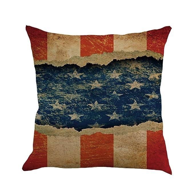 Amazon.com: Almohada Super suave Día de la Independencia ...