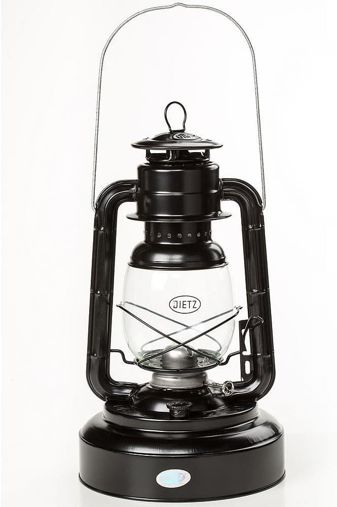 Dietz Jupiter Hurricane Oil Lantern BLACK