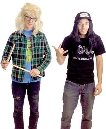f42510ad Amazon.com: TV Store Wayne's World Garth and Wayne Costume Set: Clothing