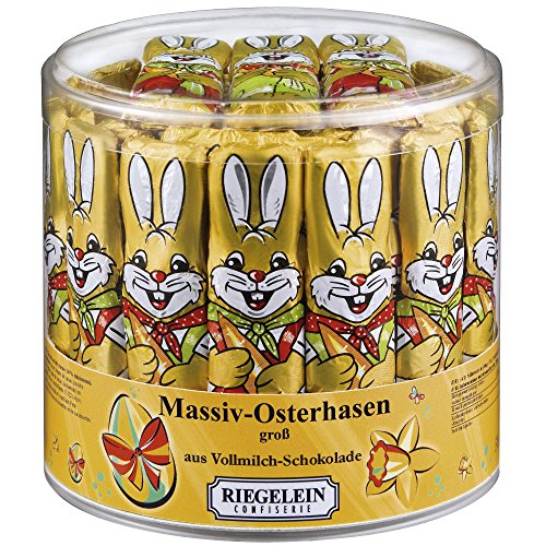 Riegelein Massif Easter Bunnies large 70 Pieces (875g) - Milk Chocolate