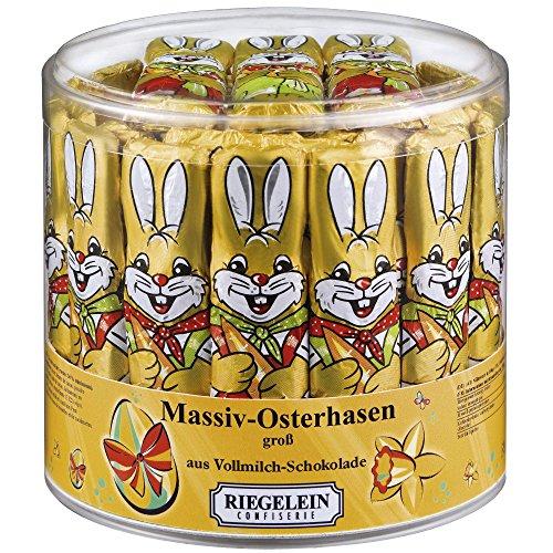 Riegelein Massif Easter Bunnies large 70 Pieces (875g) - Milk Chocolate