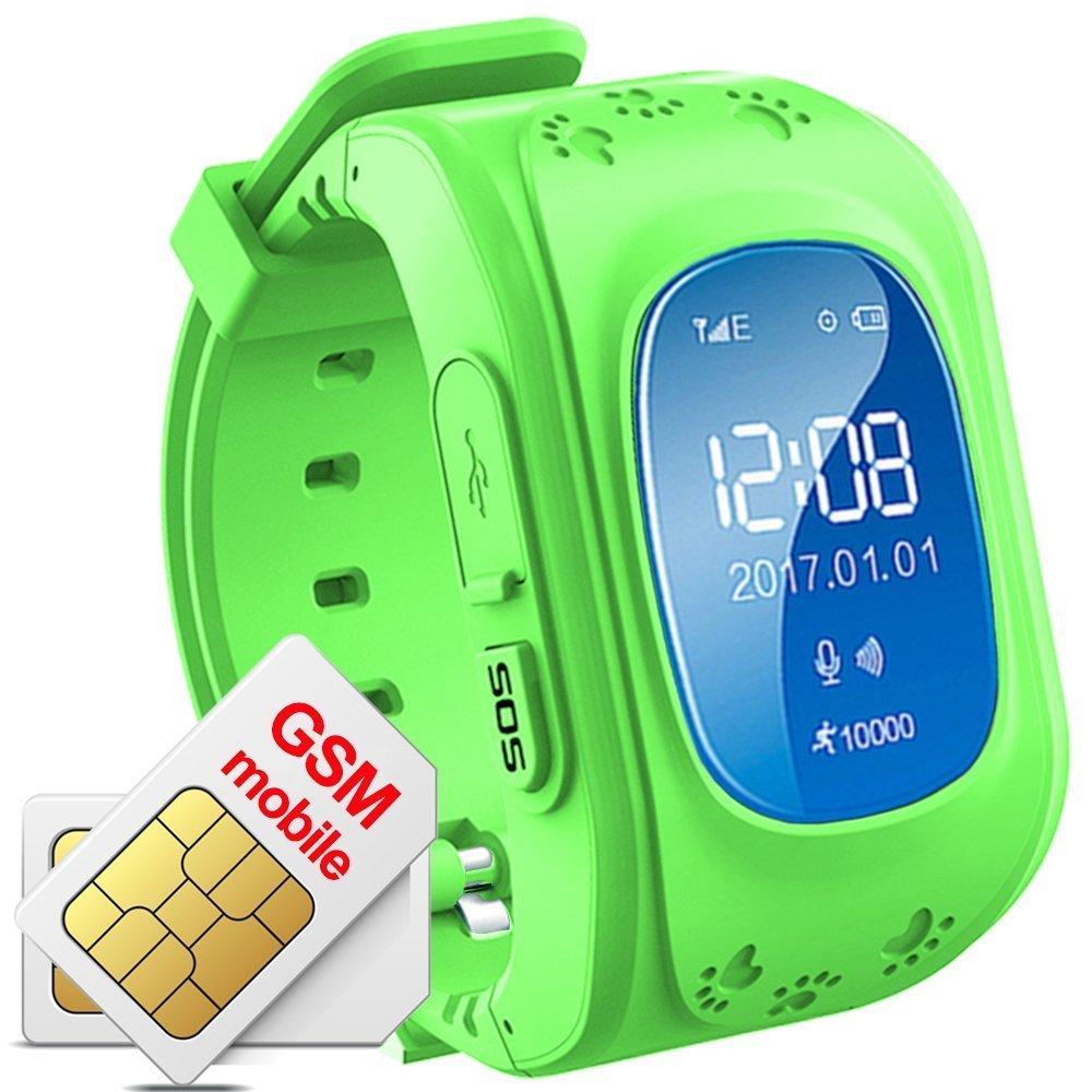 Niños Reloj De Pulsera Smartwatch GPS Tracker Perdidos Finder Niños GPS hijo Locator menor Haz Tiempo real Seguimiento de ubicación Niños Smart Reloj Q50?