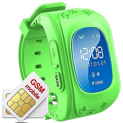 Niños Reloj De Pulsera Smartwatch GPS Tracker Perdidos Finder Niños GPS hijo Locator menor Haz Tiempo