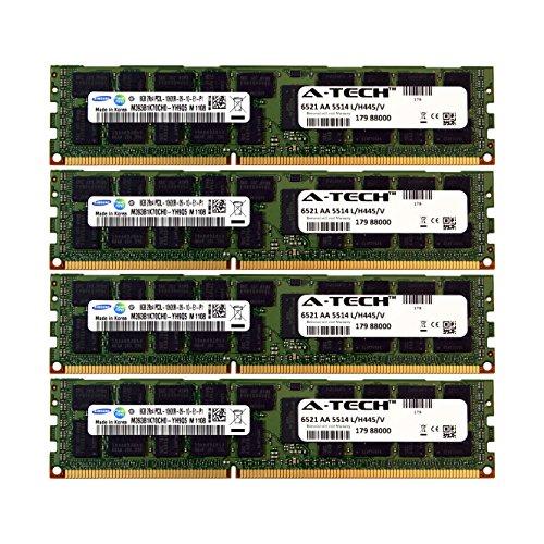 A-Tech Samsung 32GB Kit 4x 8GB PC3-10600 1.35V For HP Pro...