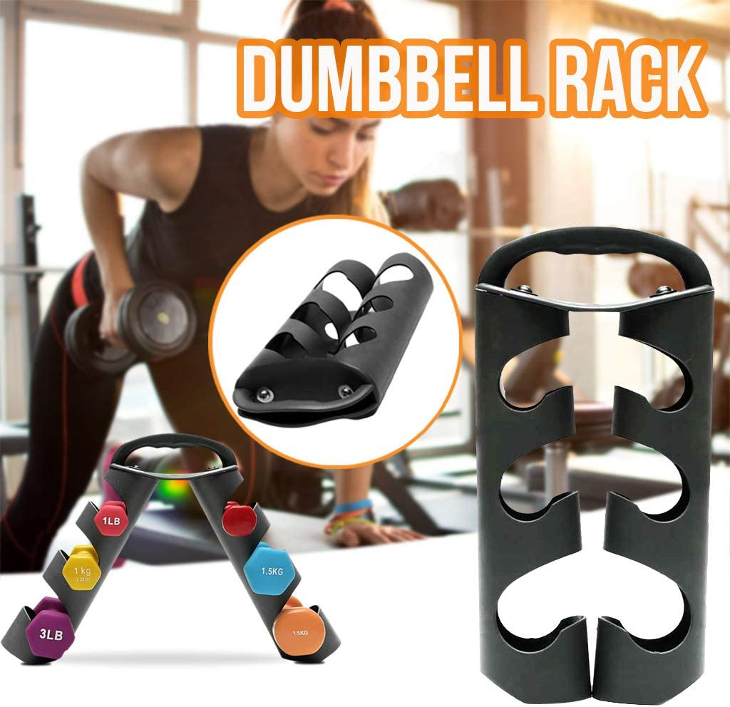 Mworld2 Dumbbell Rack Space Saving 5 Layers Exercise Accessories Portable Organizer Fitness Sports Equipment Storage Holder Tower Stand Hand Weight Office Vertical Home Gym