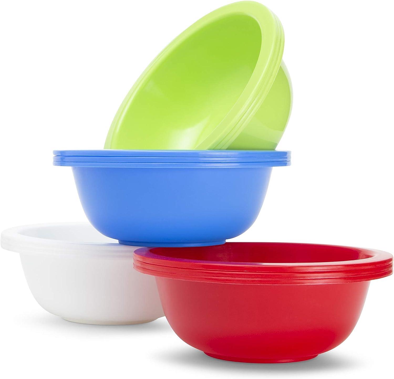 12 Pc. Cereal - Soup Bowl Set - 28 Oz - Multi Color