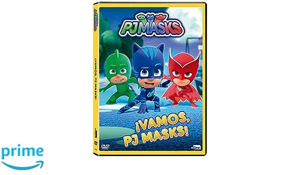 Pj Masks - ¡Vamos, Pj Masks! [DVD]: Amazon.es: Animación, Christian De Vita, Merle-Anne Ridley, Wilson Dos Santos: Cine y Series TV