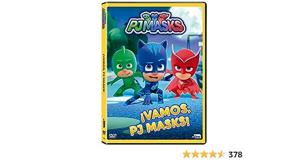 Pj Masks - ¡Vamos, Pj Masks! [DVD]