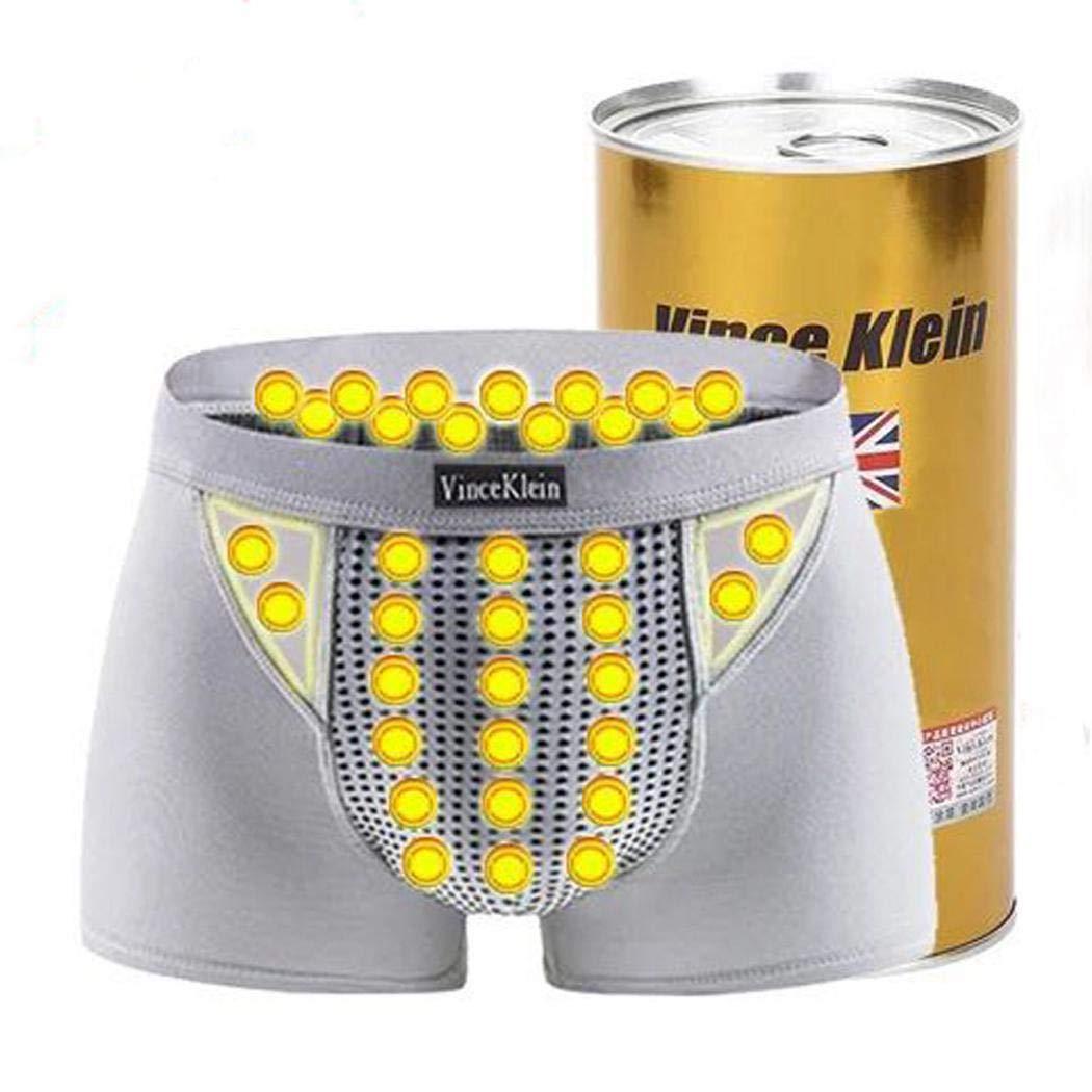 Fanala Men Casual Patchwork Natural Waist Magnet Panty Briefs Underwear Briefs