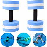 Ueasy Aquatic Exercise Dumbells Good for Water Aerobics Training Yoga Fitness Improve and Pool Exercises Sold in Pair