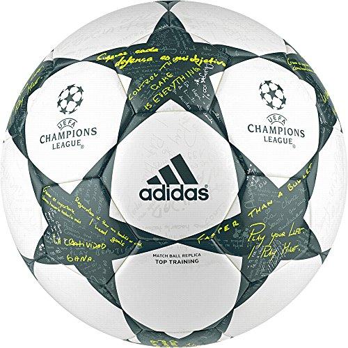 adidas FINALE16TTRAIN - Fußball Ball - Herren, Weiß, 5