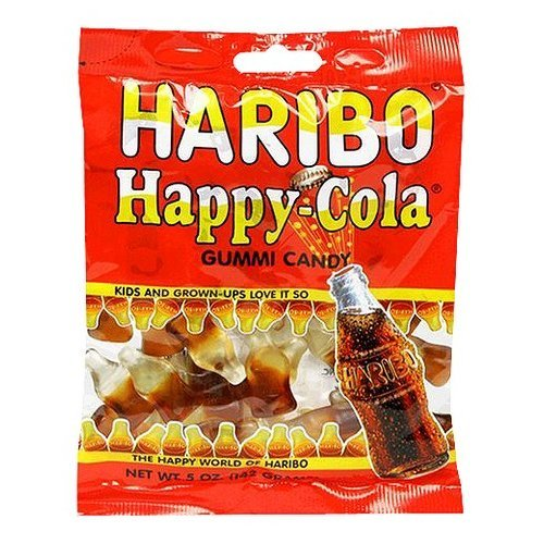 Haribo Happy-Cola Gummies Bag, 5 oz